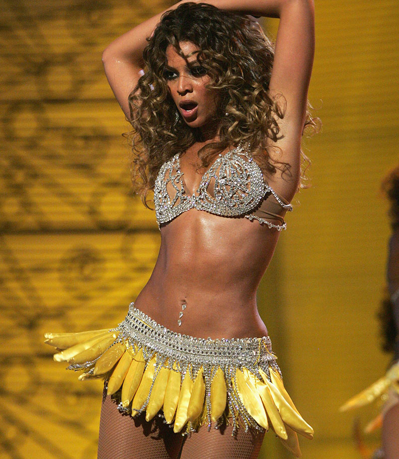Beyoncé banana skirt
