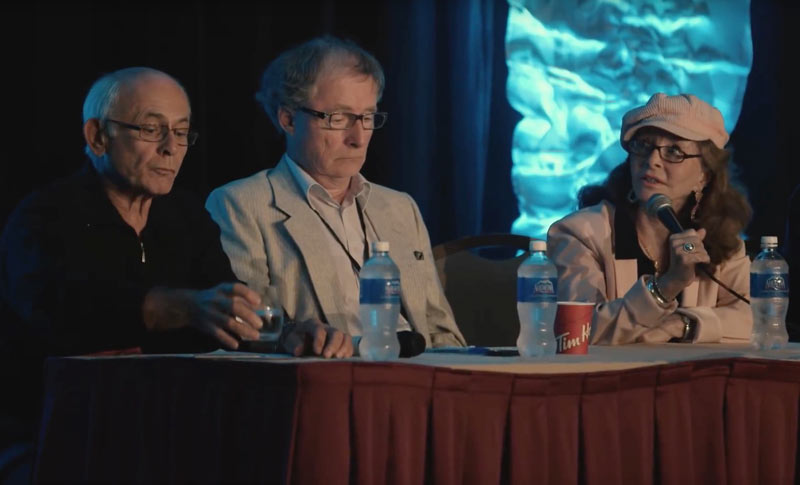 2018 Alien Cosmic Expo panel with Richard Syrett, Linda Moulton Howe, Grant Cameron, Stanton Friedman, Victor Viggiani