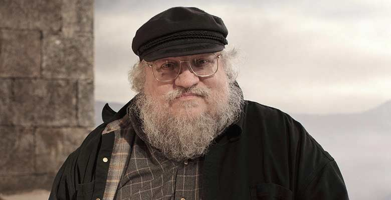 George RR Martin HBO profile picture 2014
