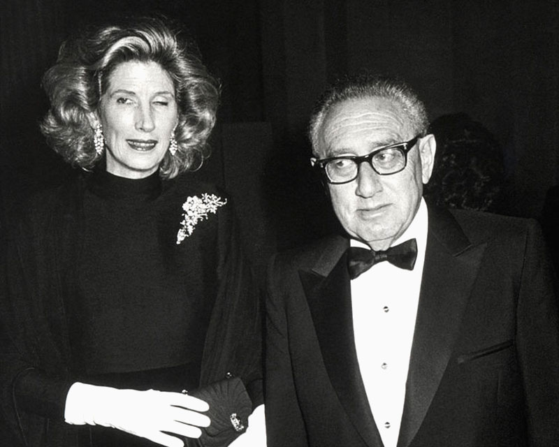 Henry Kissinger 1995 at NYC Museum of Modern Art Gala